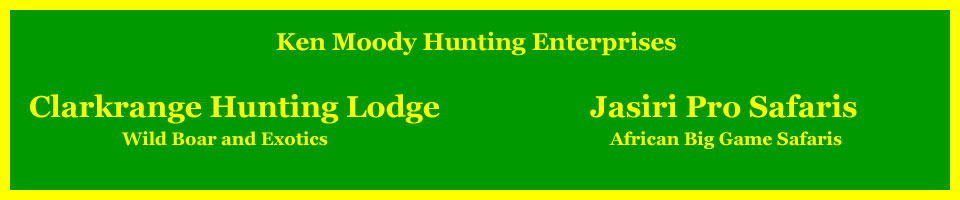"Ken Moody Hunting Enterprises – ""Excellence In Hunting"""